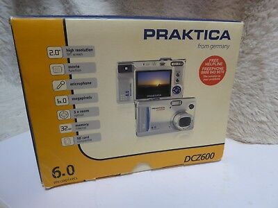 Praktica DCZ600 6.0 Megapixel Camera With box full working order BARGAIN