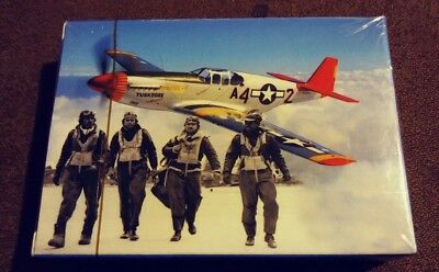 Tuskegee Airmen The Red Tail Project Commemorative Air Force Playing Cards Deck