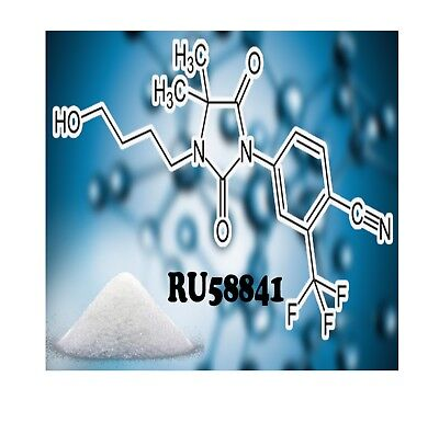 RU58841 Raw Active Powder 10 grams 99.5% Purity Third Party Lab Tested