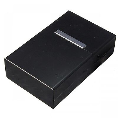 Cigar Tobacco Box Magnetic Aluminum Pocket Cigarette Holder Container Case New