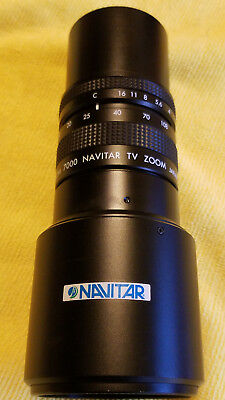 Microscope Camera Lens Zoom 7000 Navitar TV with 2X Extender And JVC Camera