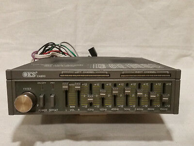 ICS EA 990 Vintage Car High Power Graphic Equalizer Booster 2x 75Watt Youngtimer