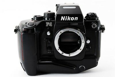 Nikon F4s 35mm SLR Body w/ MB-21 from Japan 364342
