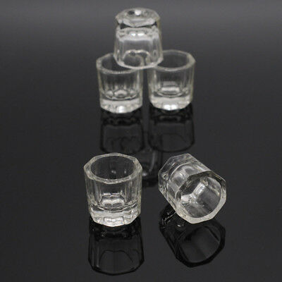 Lab Item Dental Octagonal Stirring Cups Glass Cups Mixing Bowls Dappen Dishes