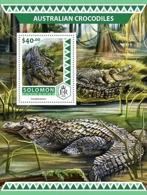 Salomonen Z08 Imperforated Slm16519a Solomon Islands 2016 Un Wildlife Conference Mnh ** Po