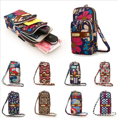 Multi-color Small Cross Body Purse for Womens Shoulder Bag Girls Cell Phone