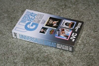UNIVERSALLY GREAT - JVC Hi-Fi VHS HOME THEATER Demonstration Tape - Sealed-Rare