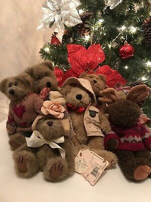 Boyds Bears - Investment Collectables Lot of 8