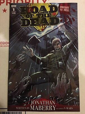 Road of the Dead Highway to Hell #1 Cover B IDW 2018 MN+ 9.6 CBSI TOP 10 HOT!!