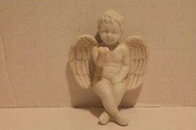 Angel Figurine Cherub Shelf Sitter
