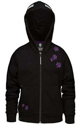 JINX Minecraft Big Boys' Enderman Zip-Up Hoodie
