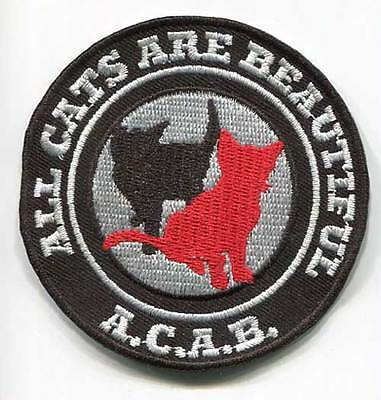 Acab (All Cats Are Beautiful) Patch (Mbp 217)