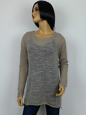Best Connections Oversized Shirt in Taupe Gr.36//38 Neu
