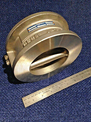 "4"" Wafer Check Valve - 316 Stainless Steel - Dual Plate SUPER CHECK  4""- 150lb."