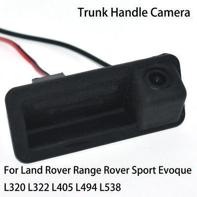 Car Rear Back Up Trunk Handle Camera for Land Rover Range Rover Evoque L538 L322