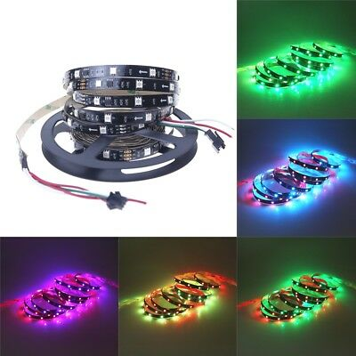 5M 150 Leds WS2811 5050 RGB LED Strip Dream Magic Color 12V Led Rope Black PCB