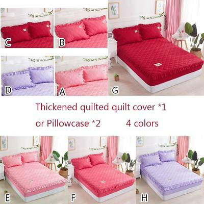 150 * 200cm Soft Solid Thickened Duvet Quilt Cover Bed Sheet Bedding /Pillowcase