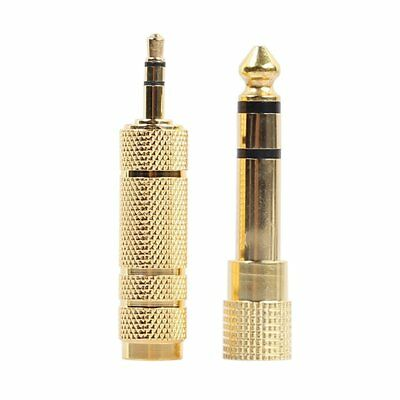 6.35mm Male To 3.5mm  Female Jack Adapter+3.5mm Male To 6.35mm Female Adapter YW