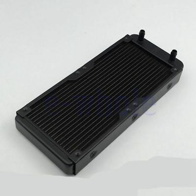 240mm Aluminum 18 Tubes Computer Water Cooling Radiator For CPU Heat Sink