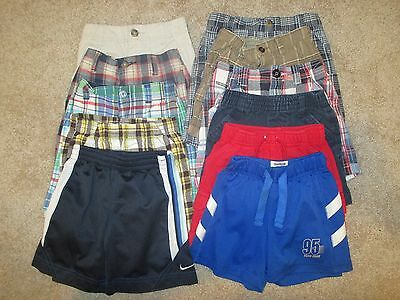 YOU CHOOSE Little Boys Shorts 3T 2T 18M Plaid Athletic Casual Osh Kosh Carters