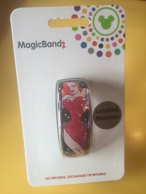 Disney Parks Jessica Rabbit Magic Band 2.0 Limited Release NEW