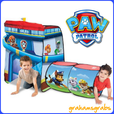 Playhut Paw Patrol Explore 4 Fun Play Tent And Tunnel Hideout Hide u0026 Seek  sc 1 st  PicClick & PLAYHUT PLAY TENT Kids Cars 3 Lightning McQueen Toddler Boy Gift Toy ...