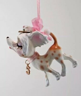 Katherine's Collection Fifi Goes To Paris Chihuahua Ornament 28-828294 (A)