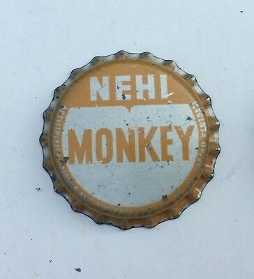 cork bottle cap crown NEHI MONKEY SODA can acl Royal #2 flat cone top banana pop