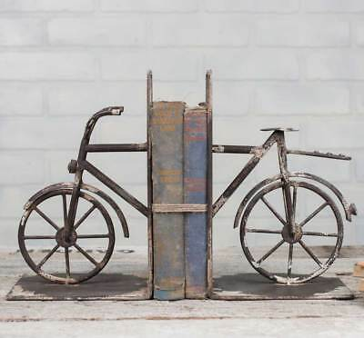 Bicycle Bookends-Cast Iron