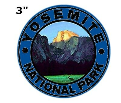 Yosemite National Park Patch - Half Dome, El Capitan, The Valley (Iron on)