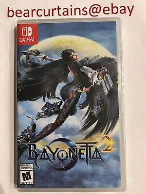 Bayonetta 2 Switch Nintendo Physical with Bayonetta Game Download New Sealed