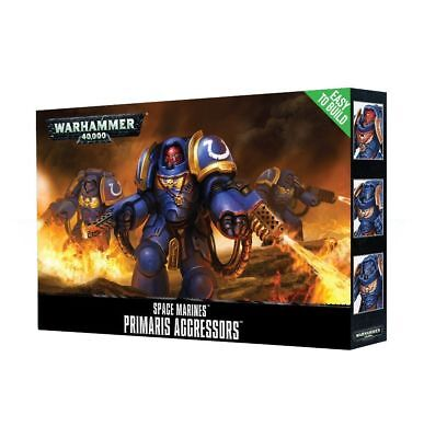 Space Marines EtB Primaris Aggressors - Warhammer 40k - Brand New! - 48-86