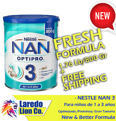1 NESTLE NAN OPTIPRO 3 FORMULA - BOTE GRANDE 800G - BIG 800g CAN - ENVIO GRATIS