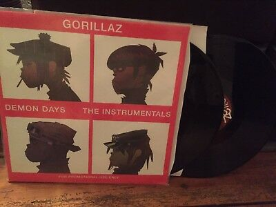 Gorillaz Demon Days Vinyl Limited Promo Doppel LP