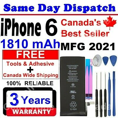 iPhone 6 Battery 1810 mAh With Free Tools & Adhesive