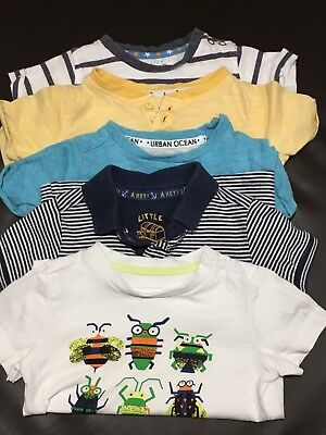 Baby Boy 6-9 T-shirts Mothercare Bundle