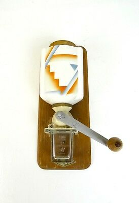 Rare Original Art Deco Wall Coffee Mill Bauhaus Suprematism 1925 Futurism