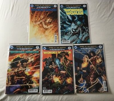 Wonder Woman 26, 27, 28, 29, 30. New. Unread. First Prints.