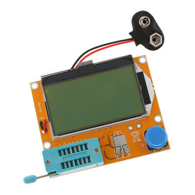 LCR-T4 Component Tester Kit 9V with 12864 Green Backlight LCD Display