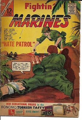 Fightin Marines #55 october 1963 Comic Code authority