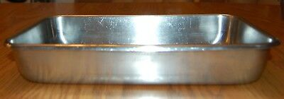 """Vollrath heavy duty stainless steel cake/baking pan 12"""" by 7"""" by 2"""""""