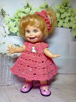 dress doll Baby Face Galoob.