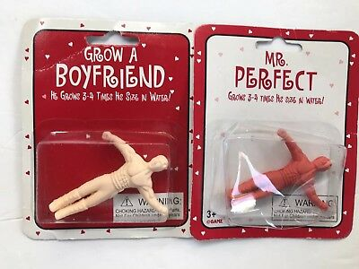 Grow A Boyfriend Mr. Perfect 2 New Grow Figures Gag Novelty Gift