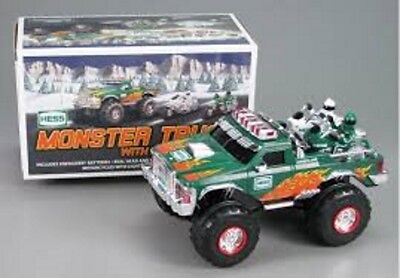 Hess 2007 Toy Monster Truck And Motorcycles - Collectors - Christmas Gift