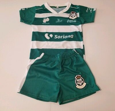 e407ab294 Club santos laguna Kid s Soccer Jersey and Shorts futbol mexico liga mx
