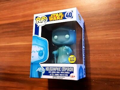 Funko Pop - Holographic Emperor (glow in the dark) - Star Wars