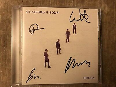 Mumford And Sons - Delta Fully Signed CD  New Mint Unplayed