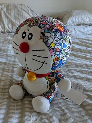 DORAEMON x UNIQLO x TAKASHI MURAKAMI PLUSH DOLL - BRAND NEW, AUTHENTIC, W/ TAGS