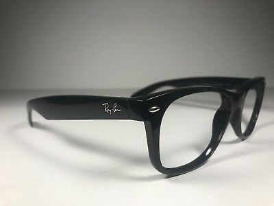 2bb063a682 RAY-BAN MEN S BLACK Sunglasses Frames Model 2132 New Wayfarer 901 55 ...