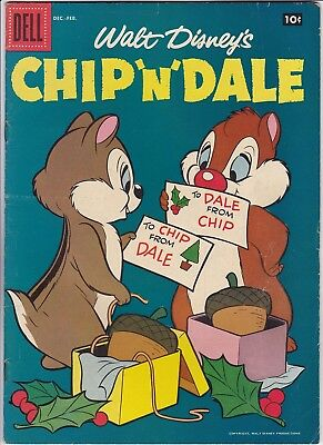 Chip N Dale # 12 (Dell) Donald Duck - Scamp - Lady And The Tramp